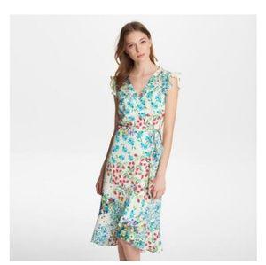 Karl Lagerfeld Paris Floral Midi Dress size 0